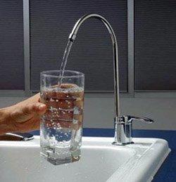 Установка фильтра очистки воды город Кемерово