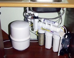 Установка фильтра очистки воды в Кемерове, подключение фильтра очистки воды в г.Кемерово